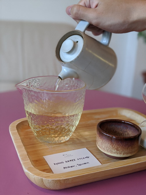 Kyoho Grape Oolong antea social