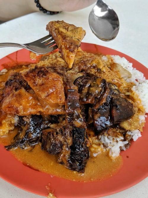 Scissors Cut Curry Rice Pork Chop