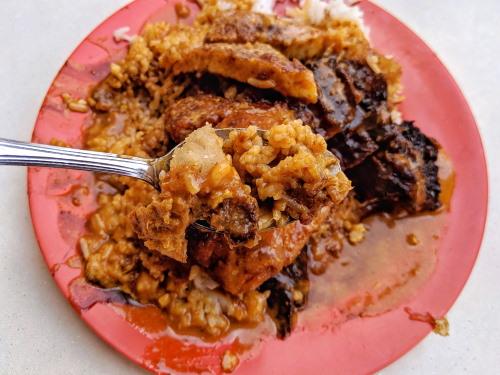 Scissors Cut Curry Rice Plate