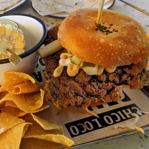 Chico Loco buttermilk chicken burger review