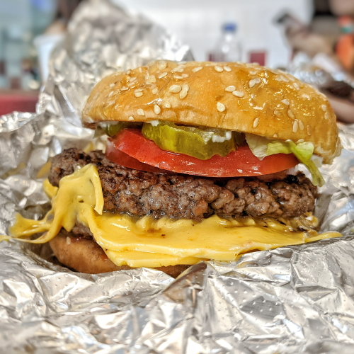 Five Guys Singapore review