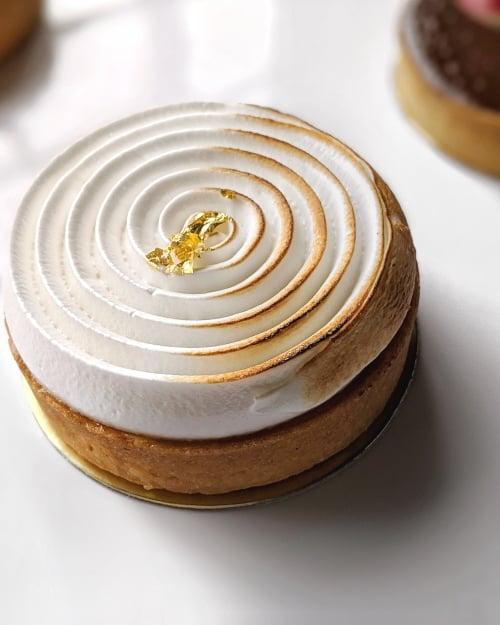 Tarte by Cheryl Koh lemon meringue tart