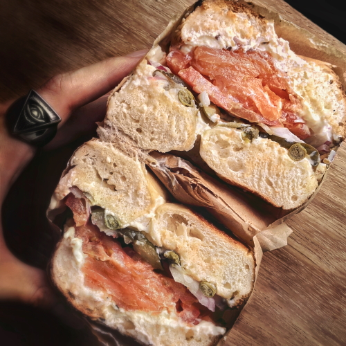 singapore best sandwiches two men bagel house the lox review