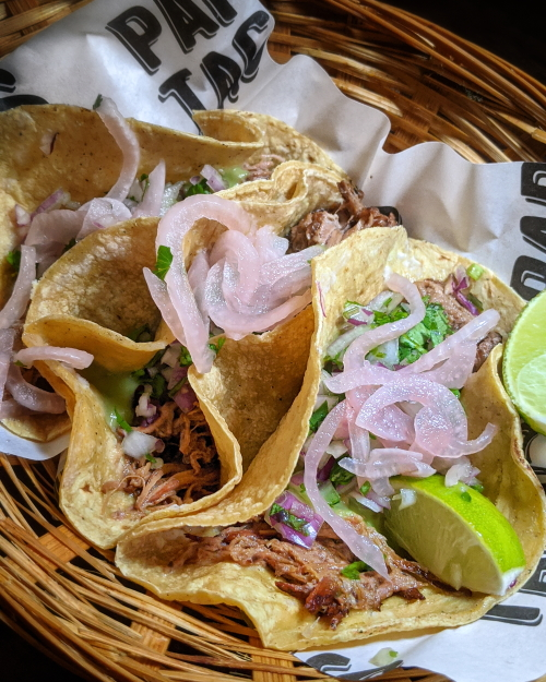 Papi's tacos beef tacos