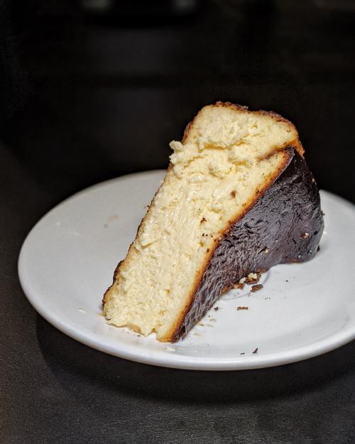 wildfire burgers singapore burnt cheesecake