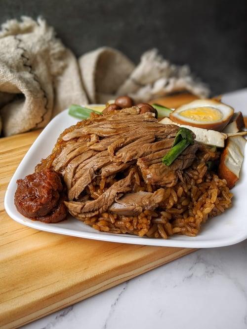 chuan kee boneless braised duck yishun best food