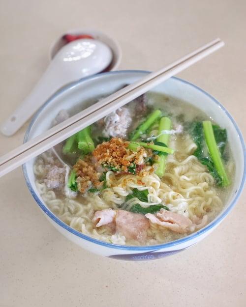 ke kou mian hai xian zhu zhou yishun best food