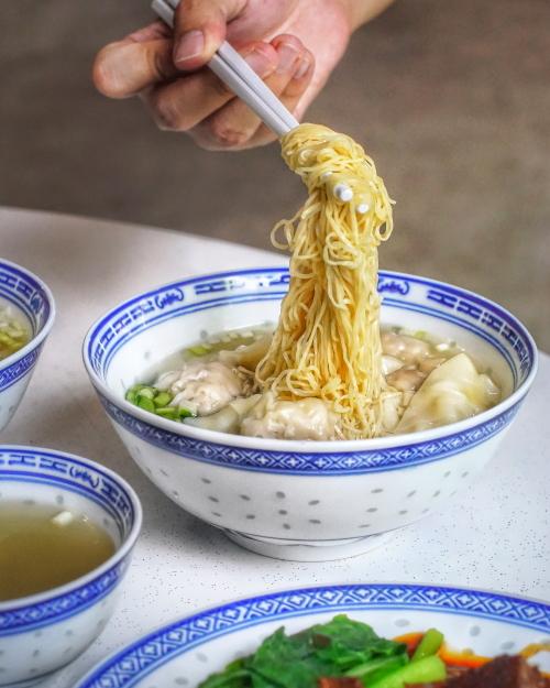 best food yishun chef kin hk wanton noodle