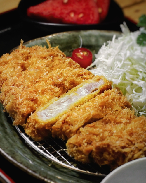 Hajime tonkatsu premium loin tonkatsu singapore