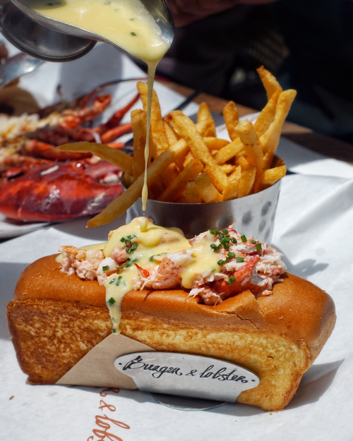 Burger & Lobster Changi Jewel review lobster roll